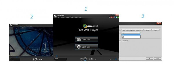 Aiseesoft Free AVI Player